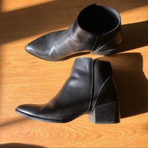 Dirty Laundry Black Booties